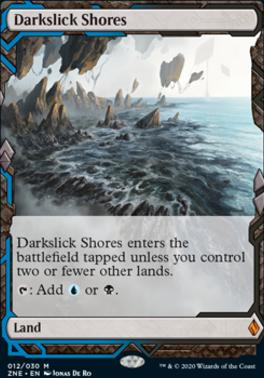 Zendikar Rising Expeditions: Darkslick Shores