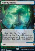 Zendikar Rising Expeditions Foil: Misty Rainforest