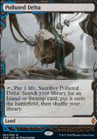 Zendikar Rising Expeditions Foil: Polluted Delta