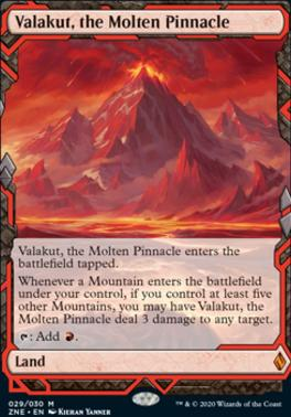 Zendikar Rising Expeditions: Valakut, the Molten Pinnacle
