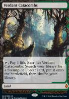 Zendikar Rising Expeditions Foil: Verdant Catacombs