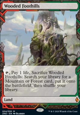 Zendikar Rising Expeditions: Wooded Foothills