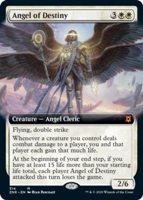 MTG Zendikar Rising Legion Angel FOIL NM//M