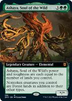 Zendikar Rising Variants: Ashaya, Soul of the Wild (Extended Art)