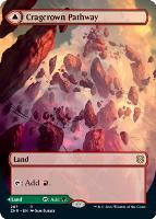 Zendikar Rising Variants: Cragcrown Pathway (Borderless)