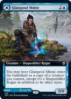 Zendikar Rising Variants Foil: Glasspool Mimic (Extended Art)