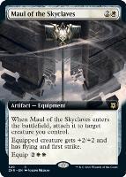 Zendikar Rising Variants: Maul of the Skyclaves (Extended Art)