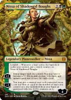 Zendikar Rising Variants: Nissa of Shadowed Boughs (Borderless)