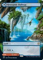 Zendikar Rising Variants: Riverglide Pathway (Borderless)