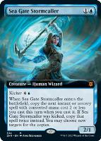 Zendikar Rising Variants Foil: Sea Gate Stormcaller (Extended Art)