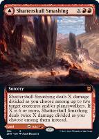 Zendikar Rising Variants Foil: Shatterskull Smashing (Extended Art)