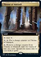 Zendikar Rising Variants Foil: Throne of Makindi (Extended Art)