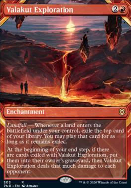 Zendikar Rising Variants: Valakut Exploration (Showcase)