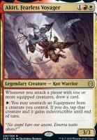 Zendikar Rising: Akiri, Fearless Voyager