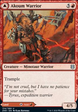 Zendikar Rising: Akoum Warrior