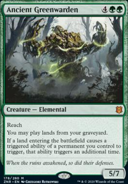 Zendikar Rising: Ancient Greenwarden