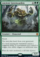 Zendikar Rising: Ancient Greenwarden