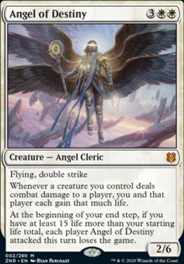 Zendikar Rising: Angel of Destiny