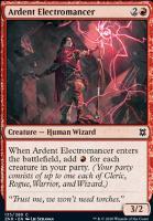 Zendikar Rising: Ardent Electromancer