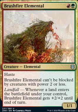 Zendikar Rising: Brushfire Elemental