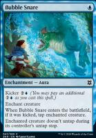 Zendikar Rising: Bubble Snare