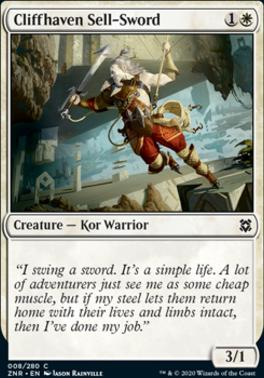 Zendikar Rising: Cliffhaven Sell-Sword