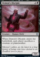 Zendikar Rising Foil: Demon's Disciple