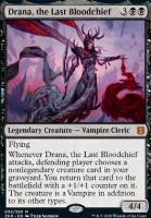 Zendikar Rising: Drana, the Last Bloodchief