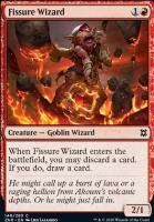 Zendikar Rising: Fissure Wizard