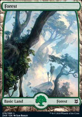 Zendikar Rising: Forest (278)
