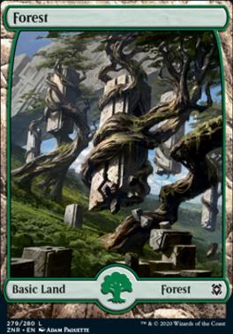 Zendikar Rising: Forest (279)