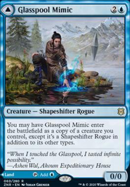 Zendikar Rising: Glasspool Mimic