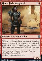Zendikar Rising: Goma Fada Vanguard