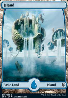 Zendikar Rising: Island (270)