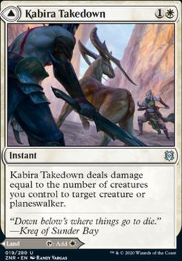 Zendikar Rising: Kabira Takedown