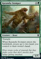 Zendikar Rising: Kazandu Stomper