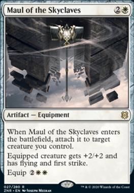 Zendikar Rising: Maul of the Skyclaves