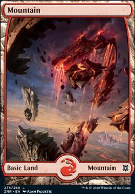 Zendikar Rising Foil: Mountain (276)