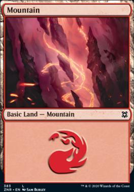 Zendikar Rising: Mountain (383)