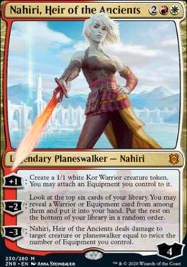 Zendikar Rising: Nahiri, Heir of the Ancients