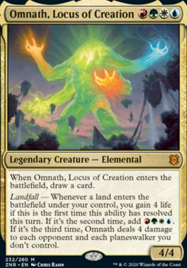 Zendikar Rising: Omnath, Locus of Creation