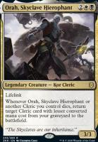 Zendikar Rising: Orah, Skyclave Hierophant