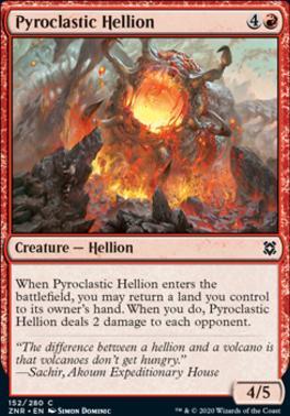 Zendikar Rising: Pyroclastic Hellion