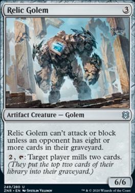 Zendikar Rising: Relic Golem
