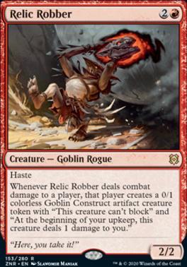 Zendikar Rising: Relic Robber
