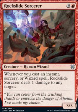 Zendikar Rising: Rockslide Sorcerer