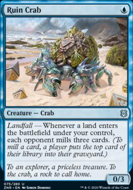 Zendikar Rising: Ruin Crab