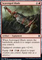 Zendikar Rising: Scavenged Blade