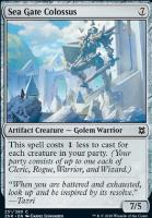 Zendikar Rising: Sea Gate Colossus