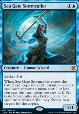 Zendikar Rising: Sea Gate Stormcaller